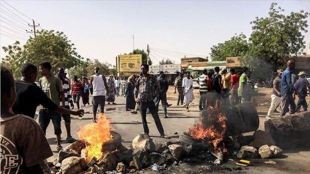 ادامه عصیان مدنی در سودان