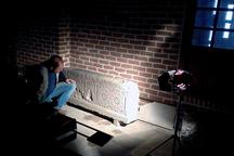 فیلم مستند سنگ نگاره در مراغه جلوی دوربین رفت
