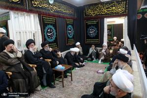 مراسم عزاداری سالار شهیدان در بیت حجت الاسلام والمسلمین شهرستانی