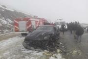 تصادف رانندگی در مهاباد ۶ مصدوم برجا گذاشت