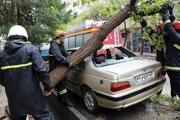 ۴۵ ماموریت مرتبط با بارندگی توسط آتش نشانی مشهد انجام شد