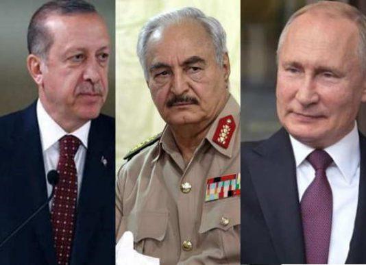 نجات اردوغان توسط پوتین در سوریه و لیبی