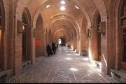 بازارچه سعدالسلطنه قزوین بازگشایی شد