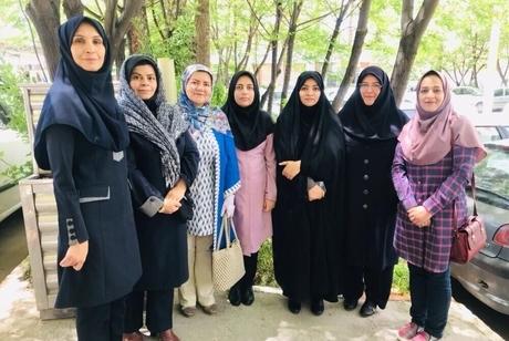 اقدام جالب معلمان کرمانی برای تقدیر از کادر درمان کرونا