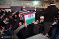 تشییع پیکر جانباز شهید عباس کیانیان برگزار شد