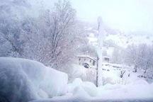ارتفاع برف در ارتفاعات خوی به 25 سانتیمتر رسید