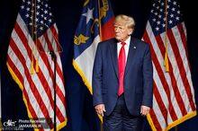 وقتی ترامپ شلوارش را برعکس می پوشد!+ عکس