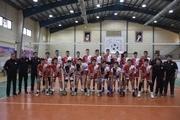 نوجوانان شهرداری ارومیه لیگ برتر والیبال را با برد شروع کردند