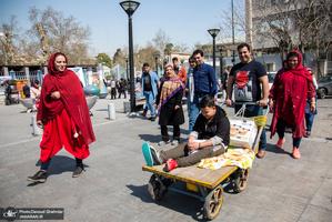 حال و هوای نوروزی محدوده بازار تهران