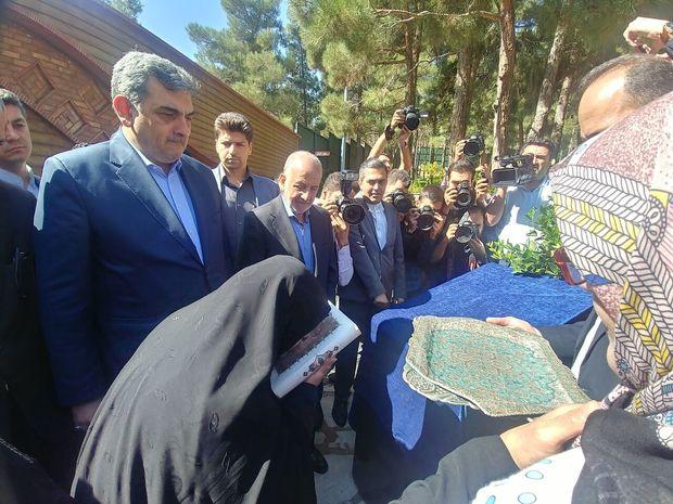 بوستان مرضیه حدیدچی در پایتخت بهرهبرداری شد