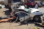 11 مجروح و یک کشته بر اثر واژگونی پژو