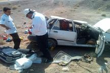 واژگونی خودرو در سبزوار شش مجروح برجای گذاشت