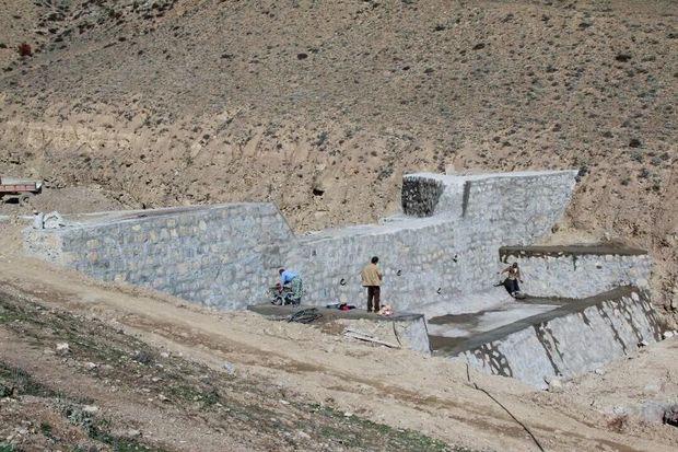 چهار هزار مترمکعب از اراضی سیروان آبخیزداری شد