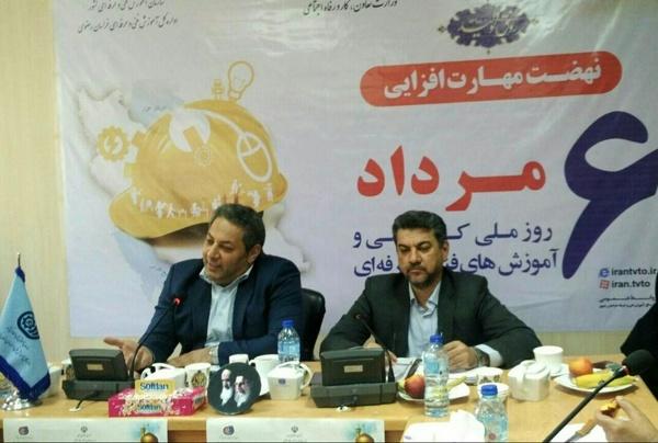قشر کارگر در جامعه به خوبی دیده نشده اند  اجرای طرح ایران مهارت با همکاری آموزش و پرورش