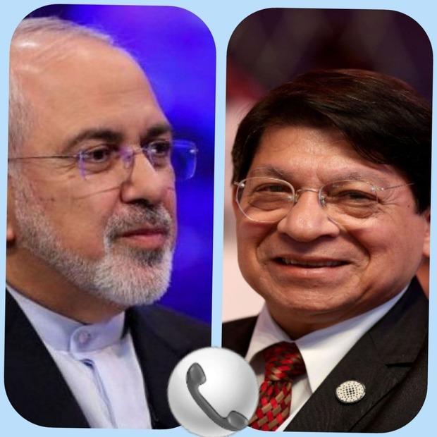 گفتوگوی تلفنی ظریف با وزیر خارجه نیکاراگوئه