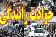 3 مجروح در پی تصادف 3 دستگاه خودرو  درشرق تهران