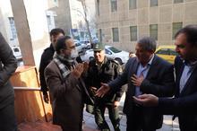 با شهردار منطقه 13 دست ندادیم + تصاویر