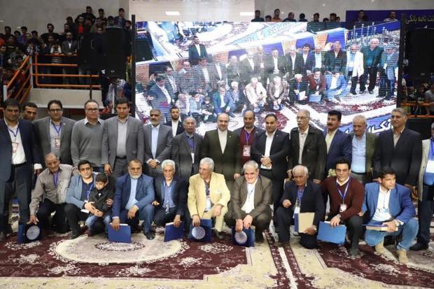 مراسم افتتاحیه مسابقات با حضور وزیر ورزش و جوانان برگزار شد