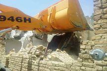هفت ملک مسیری در همدان تخریب شد