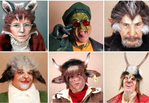 لباسهای عجیب  بازیگران «کلبه عموپورنگ»!+ عکس