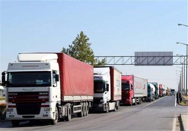 افزایش ۵۳ درصدی تردد کامیون از مرز بازرگان