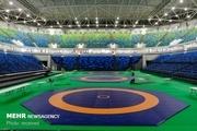 رقابت بانوان خوزستان در مسابقات کشتی بزرگسالان قهرمانی کشور