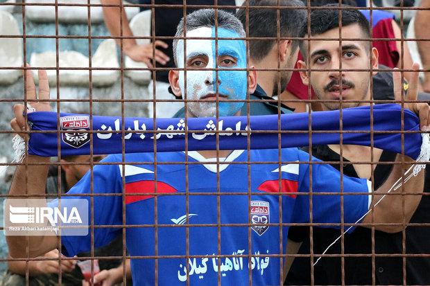 مسئولان داماش: اعتراض داریم ، دربی رشت بی تماشاگر لطفی ندارد