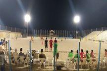 تیم ملی فوتبال ساحلی از سد پارس جنوبی بوشهر گذشت