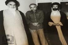 تنها عکس یادگاری امام خمینی(س)