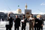 پنج منتخب مردم مشهد در مجلس معرفی شدند