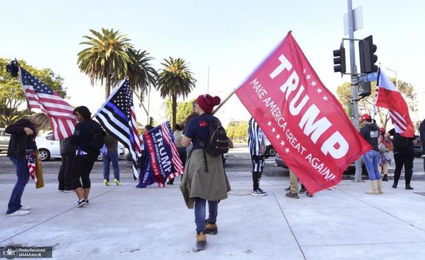گروه های راست افراطی در راه واشنگتن/ احتمال حضور خود ترامپ و نگرانی از بروز درگیری