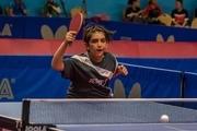 نوید شمس در مسابقات تنیس روی میز آزاد جهانی نوجوانان قهرمان شد