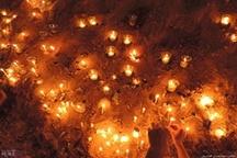 تصاویر   آیین شمع روشن کردن در شام غریبان