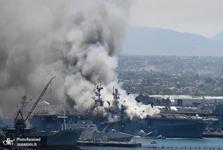 ناو منفجر شده، برای نیروی دریایی آمریکا بسیار مهم بود
