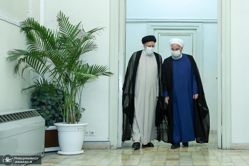 دیدار روحانی با سیدابراهیم رییسی رییس جمهور منتخب
