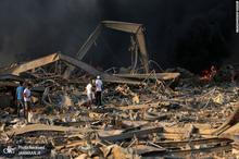 ویدئوی اسلوموشن دیده نشده از انفجار مهیب بیروت