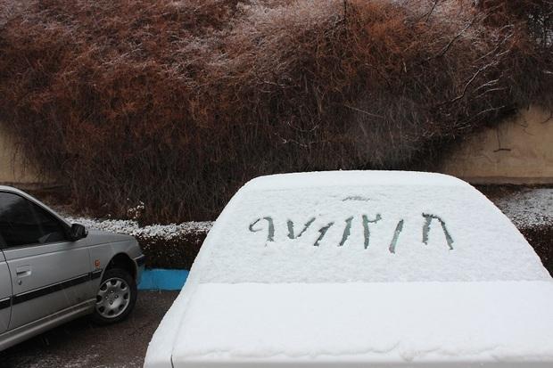 برف خلخال را سفید پوش کرد