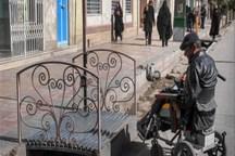 مناسب سازی محیط های یزد برای تردد معلولان حقوق شهروندی است