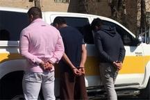 دستگیری 3 سارق خودرو در شهرستان البرز