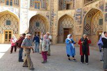 گردشگران اروپایی از جاذبههای گردشگری خواف دیدن کردند