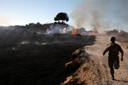 وحشت در جنوب سرزمین های اشغالی؛40 آتش سوزی و توقف حرکت قطارها