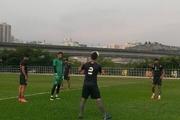 کُری خوانی در تمرین تیم ملی فوتبال+ تصاویر
