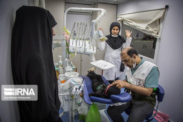 خدمات دندانپزشکی رایگان در نقاط محروم مهاباد ارایه شد