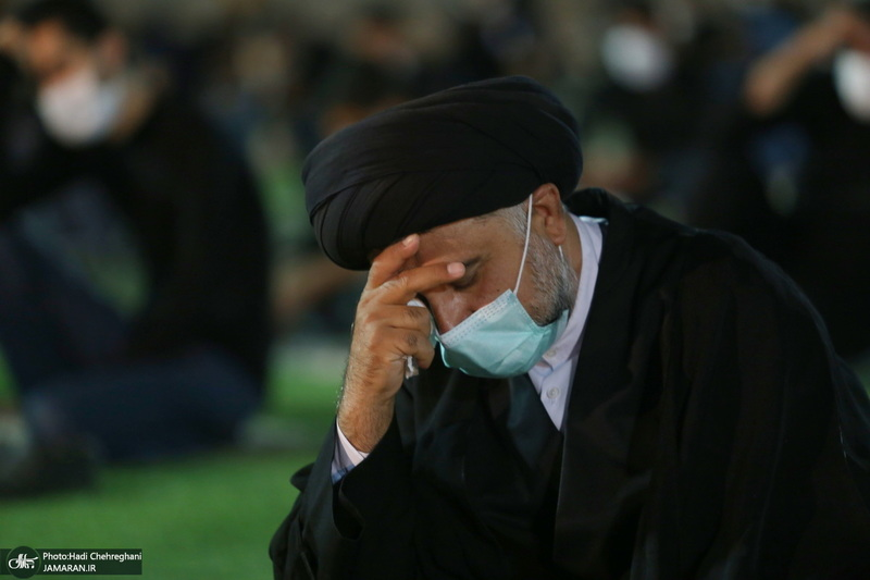 مراسم عزاداری ماه محرم در ورزشگاه حیدریان قم