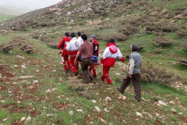 ۲ کوهنورد مصدوم در ارتفاعات الموت قزوین نجات یافتند