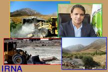 رفع تصرف 12.5 هکتار از اراضی ملی عنبرآباد