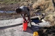 ۲۷ چشمه در تاکستان علیه طاعون جانوری سمپاشی شدند