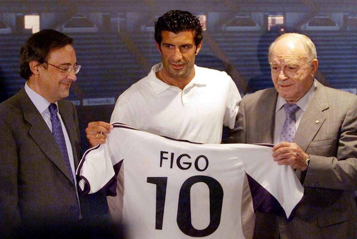 واکنش فیگو به اظهارات توهین امیز فلورنتینو پرس