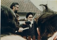 Imam Khomeini's historic interview in Paris before return to homeland