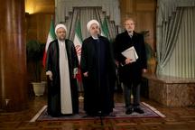 روحانی: دستور هیات دولت از فردا بررسی لایحه بودجه 97 است/هماهنگی سه قوه برای رفع مشکل سپرده گذاران برخی موسسات اعتباری